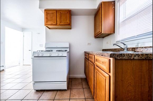 Kitchen Pangea Riverdale Apartments