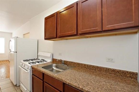 7057 S Princeton Ave Apartments Chicago Kitchen