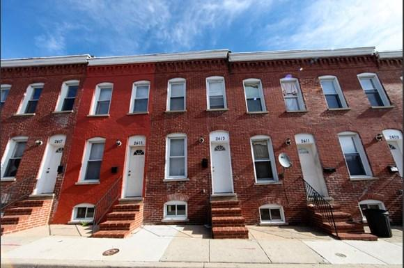 2416 Etting St Apartments Baltimore Exterior