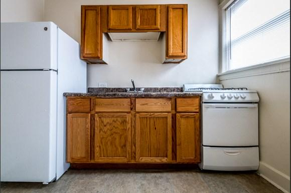 South Shore Apartments for rent in Chicago | 1931 E 71st St Kitchen