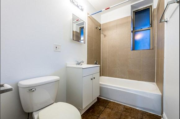 Bathroom 1236 S Lawndale Ave Apartments in Chicago