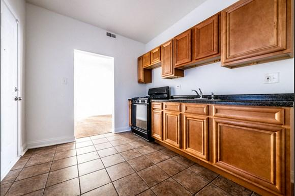 Kitchen 1236 S Lawndale Ave Apartments in Chicago
