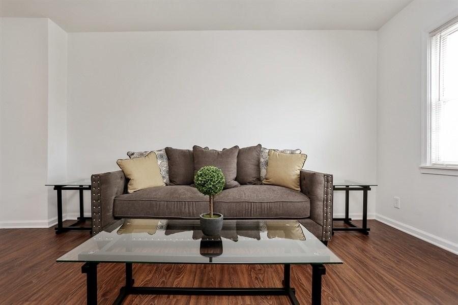 Model unit at Pangea Springs Apartments in Baltimore, MD.