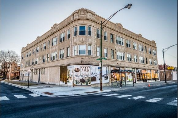7701 S Ashland Apartments Chicago Exterior