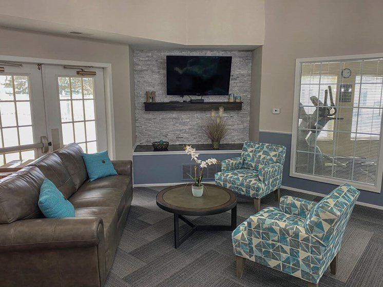 Clubhouse at Waterford Pines apartments