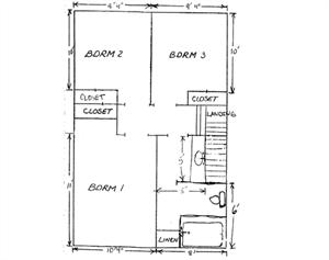 3 Bedroom 2nd Floor