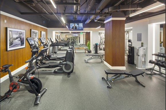Luxury Apartments Wilshire Victoria Interior Fitness Center Amenity Product