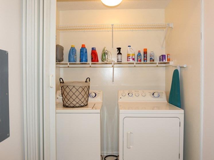 Laundry Room at Blueberry Hill Apartments, Rochester, NY