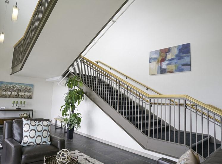 Axis Apartments in Hampton VA Lobby