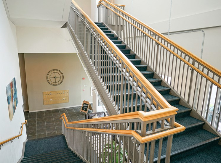 Axis Apartments Stairs