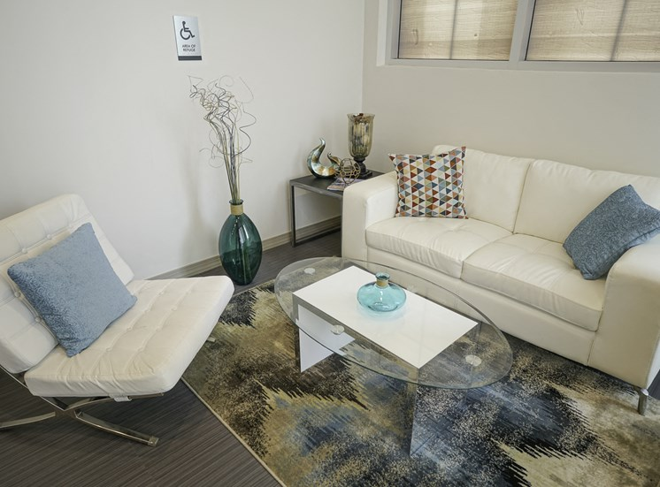 Living Room at Axis Apartments in Hampton VA