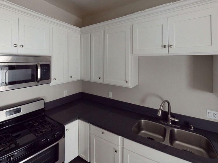 Modern Kitchen at Barton Apartments, California, 90029