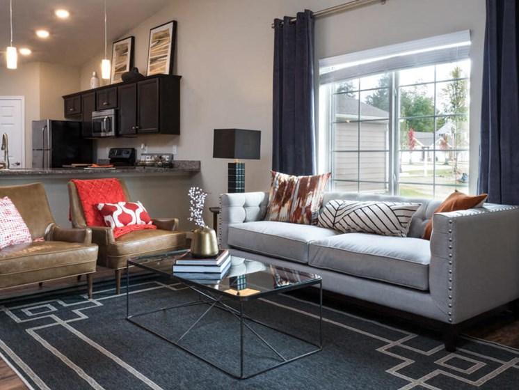 Wadsworth OH Apartment Rentals Redwood Retreat At Stonecrest Living Room