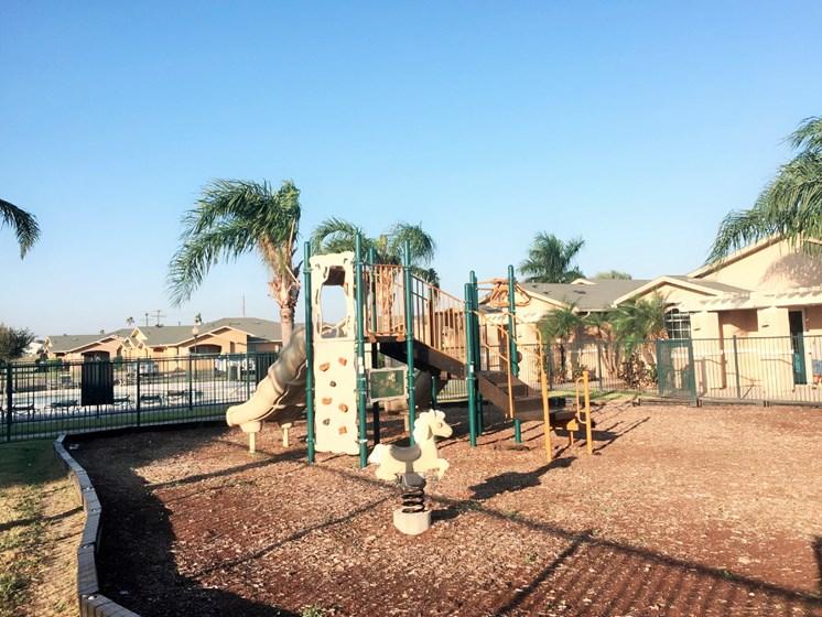 Children's Playground for Casa Saldana residents in Mercedes, Tx