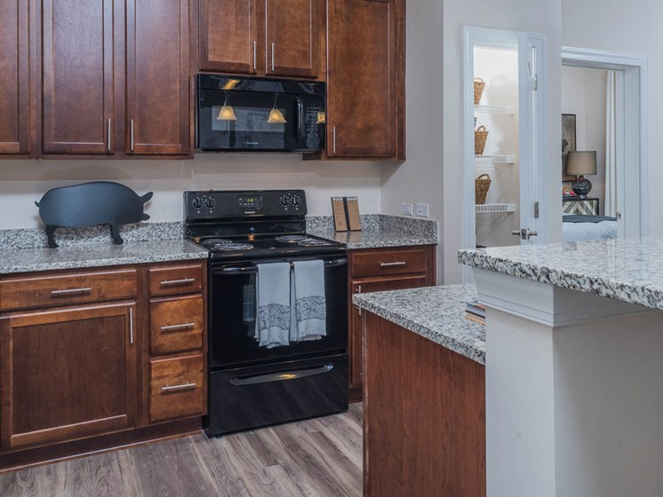 Black Appliances at Abberly Waterstone Apartment Homes by HHHunt, Stafford, Virginia