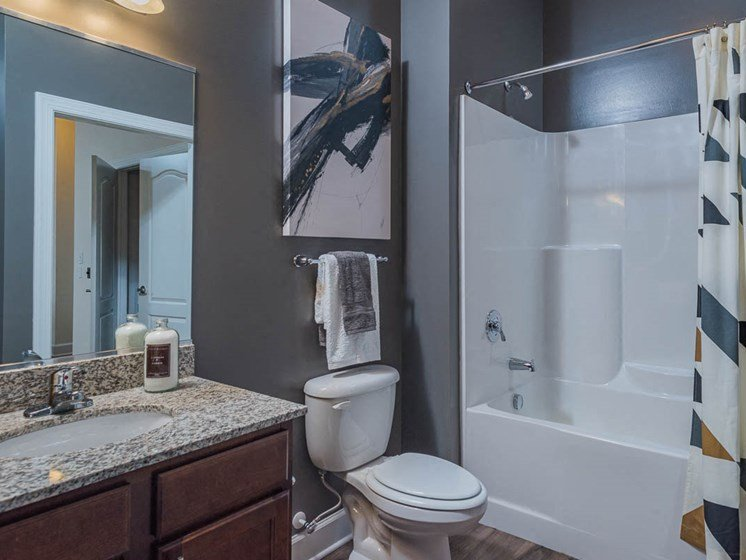 Oversize Garden Tubs at Abberly Waterstone Apartment Homes by HHHunt, Stafford, VA, 22554