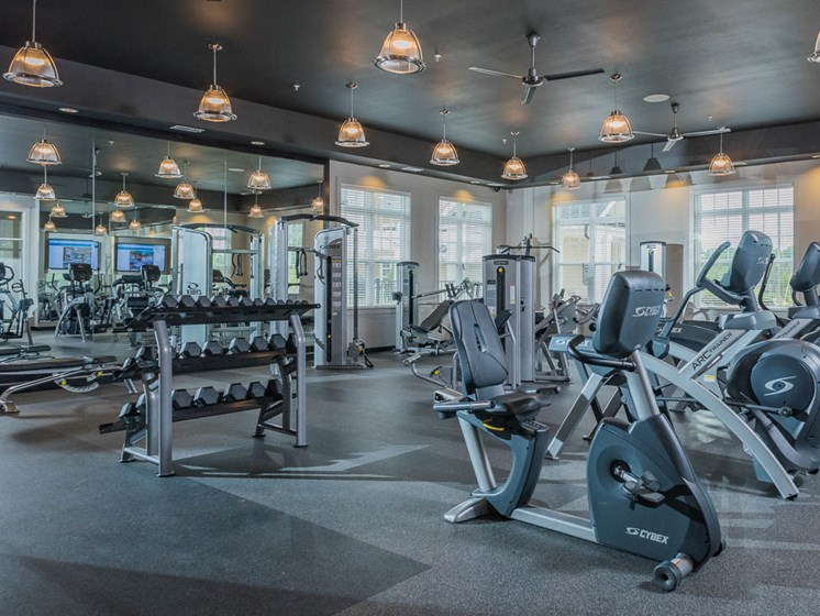 High Endurance Fitness Center at Abberly Waterstone Apartment Homes by HHHunt, Stafford, 22554