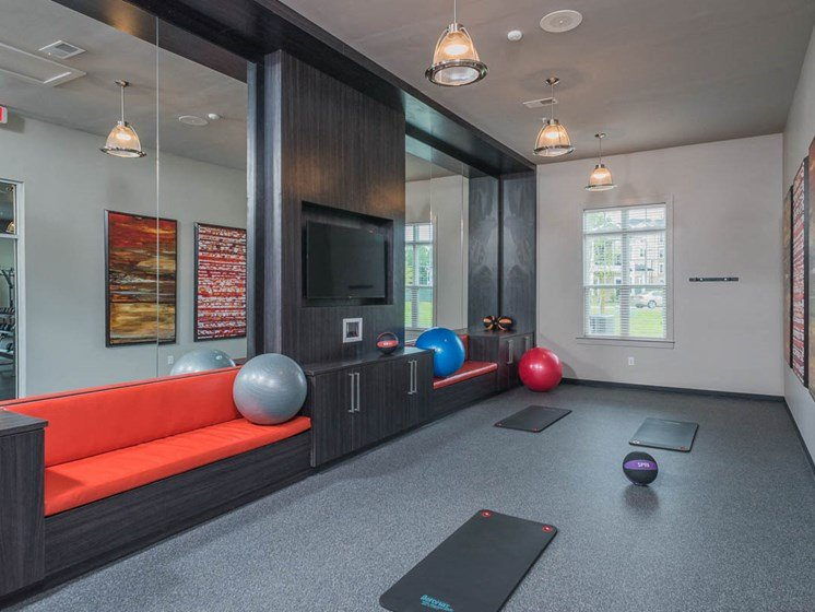 Free Style Exercise Room at Abberly Waterstone Apartment Homes by HHHunt, Virginia