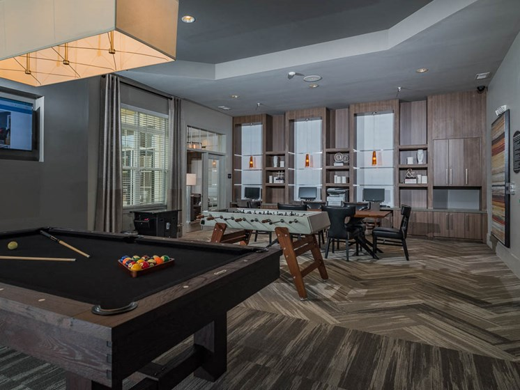 Billiards Table at Abberly Waterstone Apartment Homes by HHHunt, Virginia, 22554