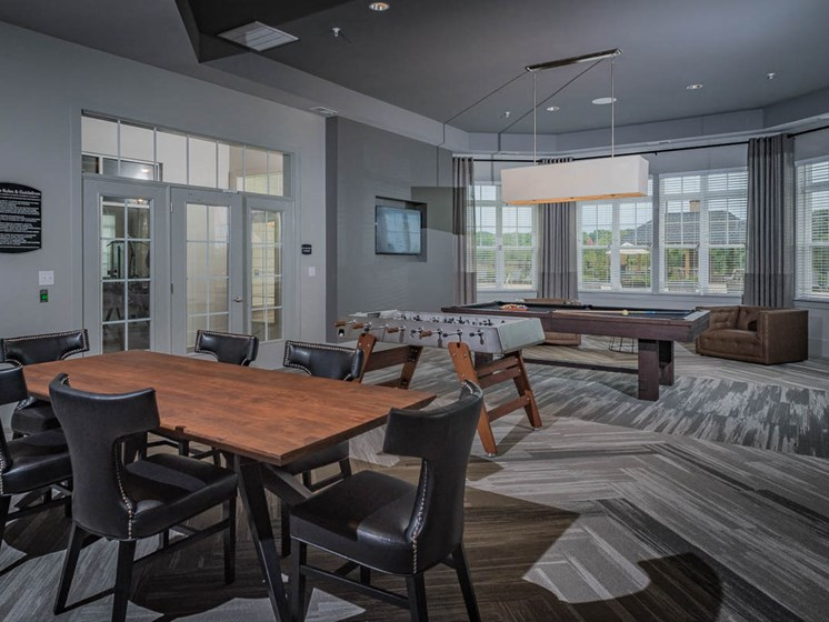 Indoor Games Room at Abberly Waterstone Apartment Homes by HHHunt, Stafford, VA, 22554