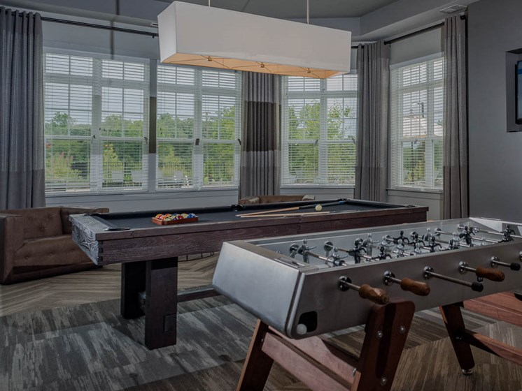 Multipurpose Activity Room at Abberly Waterstone Apartment Homes by HHHunt, Stafford, VA