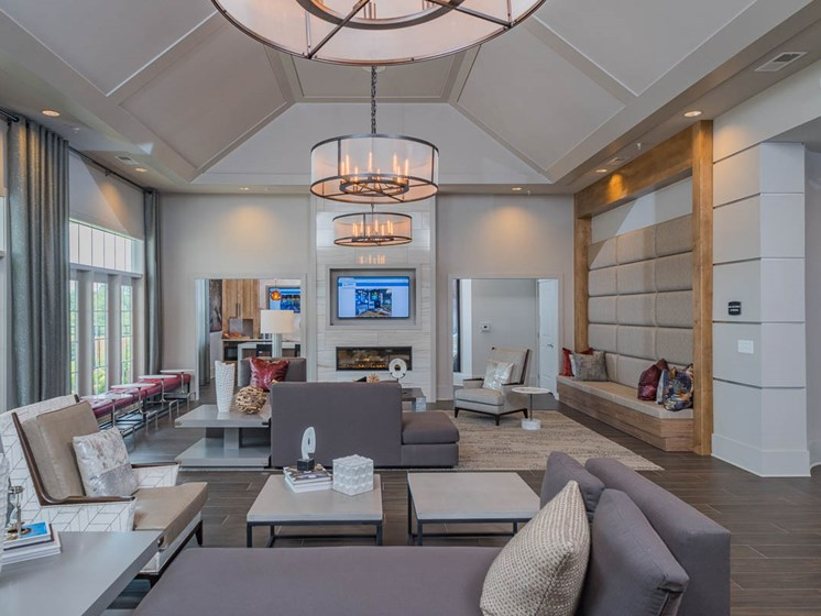 Magnificent Clubhouse at Abberly Waterstone Apartment Homes by HHHunt, Stafford, VA, 22554