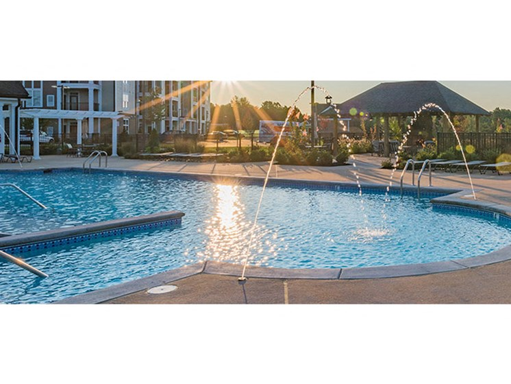 Crystal Clear Swimming Pool at Abberly Waterstone Apartment Homes by HHHunt, Stafford, VA, 22554