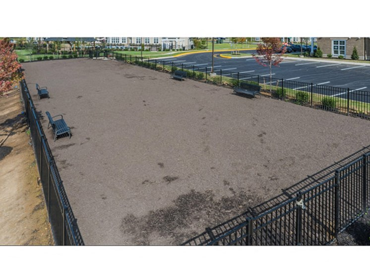 Large Dog Park at Abberly Waterstone Apartment Homes by HHHunt, Virginia