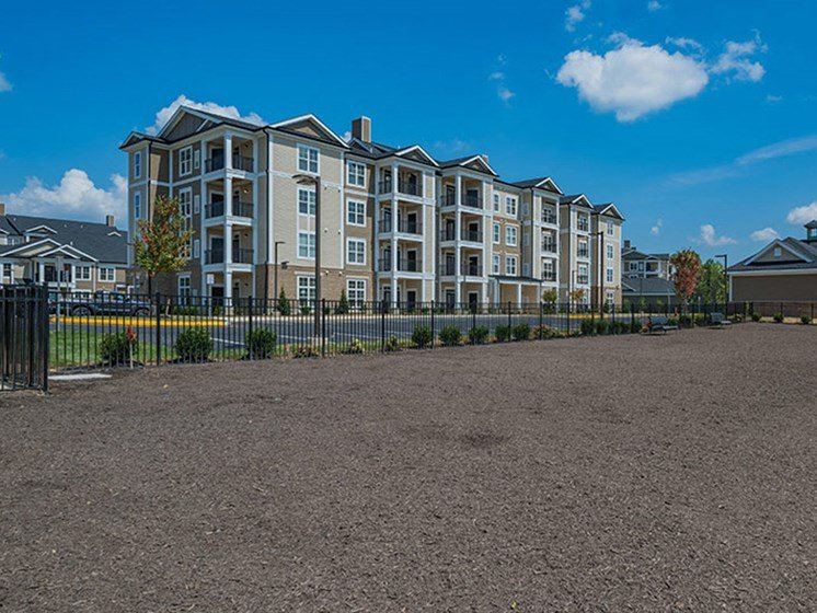 Dog Park With Perimeter Fence at Abberly Waterstone Apartment Homes by HHHunt, Virginia, 22554