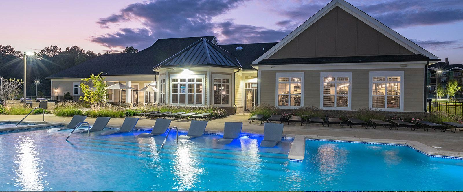 Sparkling Swimming Pool at Abberly Waterstone Apartment Homes by HHHunt, Virginia, 22554