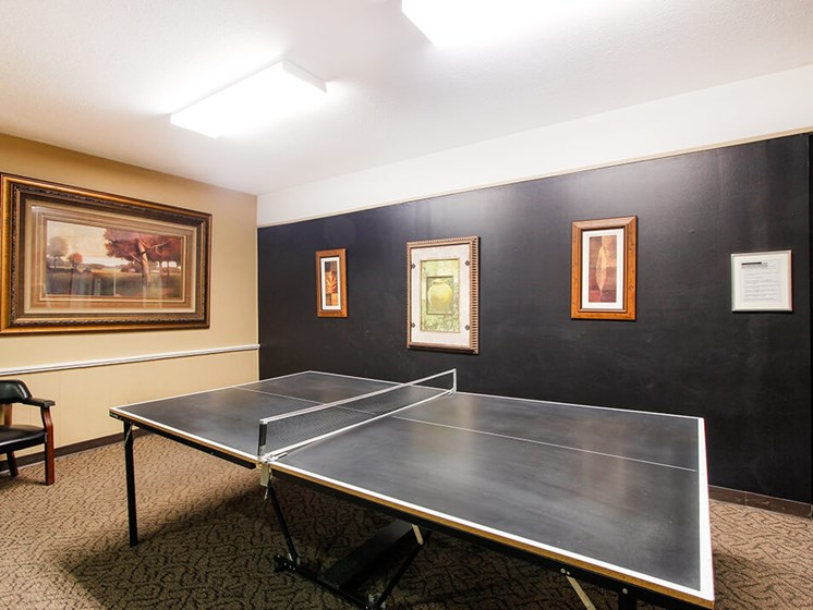 Table Tennis at Clubhouse