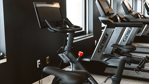 Fitness center at 35W, Michigan, 48226