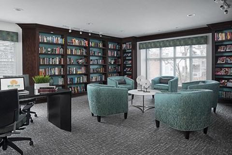 Quiet, Private Library