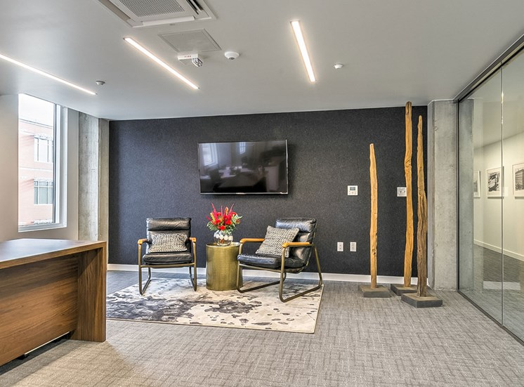 Wifi Lounge And Open Work Spaces at The Fowler, Idaho