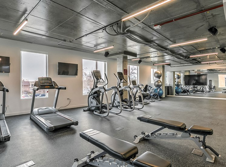 State Of The Art Fitness Center at The Fowler, Boise