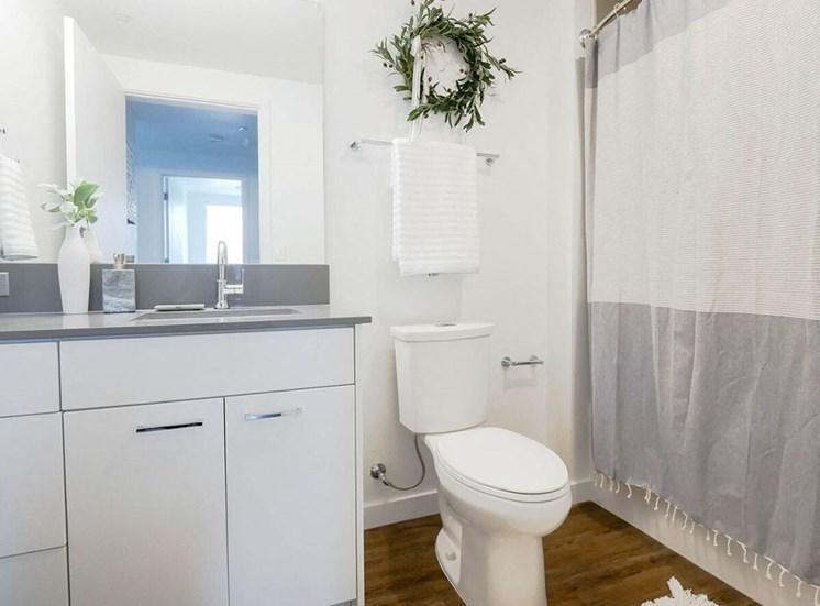Luxurious Bathrooms at The Fowler, Boise, Idaho