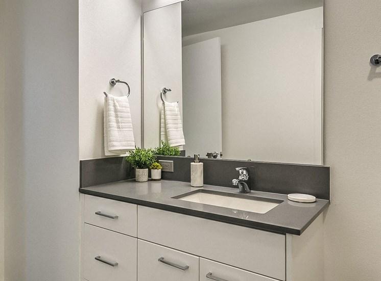 Spa Inspired Bathroom at The Fowler, Idaho, 83702