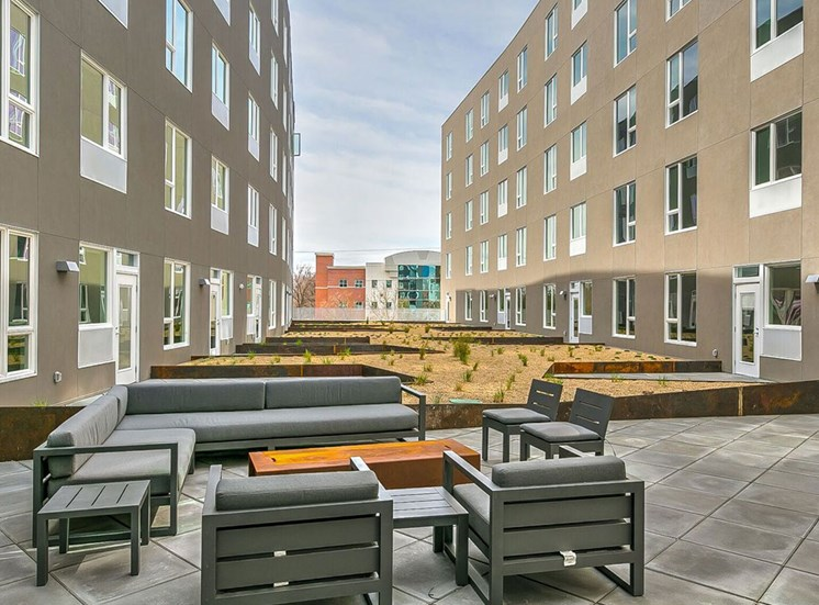 Resident deck at The Fowler, Boise, ID, 83702