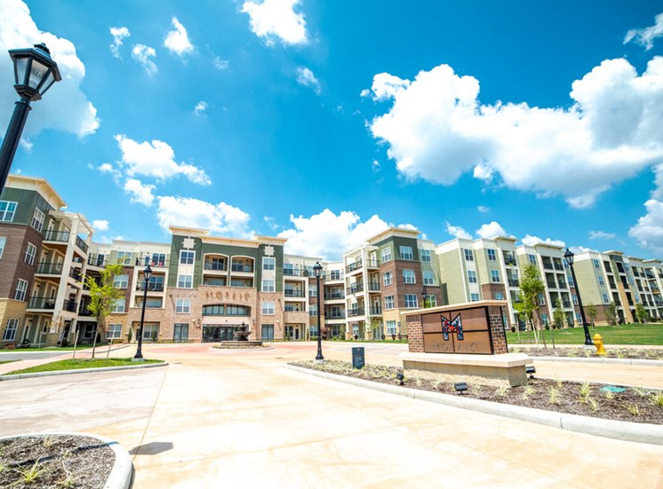 Blue Skies over Mosaic at Levis Commons Apartments in Perrysburg, OH near Toledo
