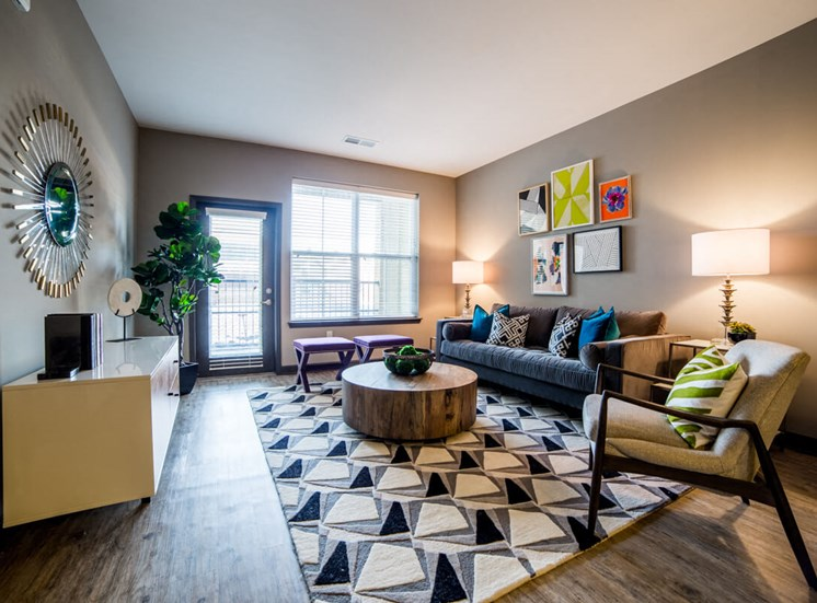 Gorgeous Living Rooms Mosaic at Levis Commons Apartments in Perrysburg, OH near Toledo