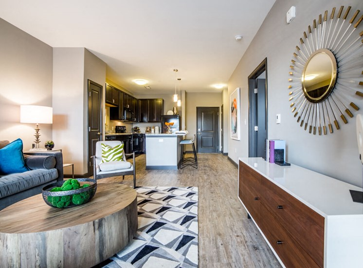 Chic interior design Mosaic at Levis Commons Apartments in Perrysburg, OH near Toledo
