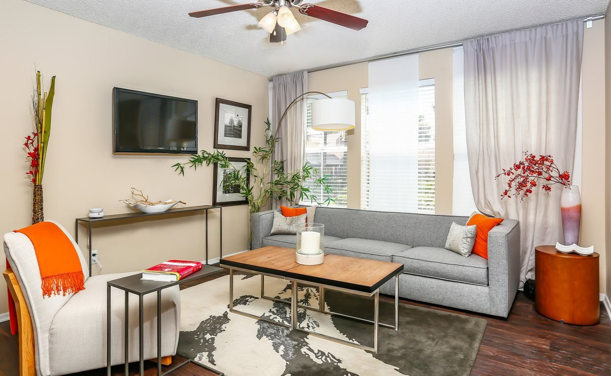 Spacious Living Room at The Adelaide, Orlando