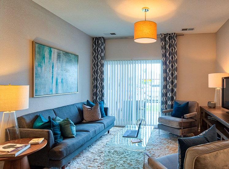 Living Room in The Choices Luxury Apartments 5
