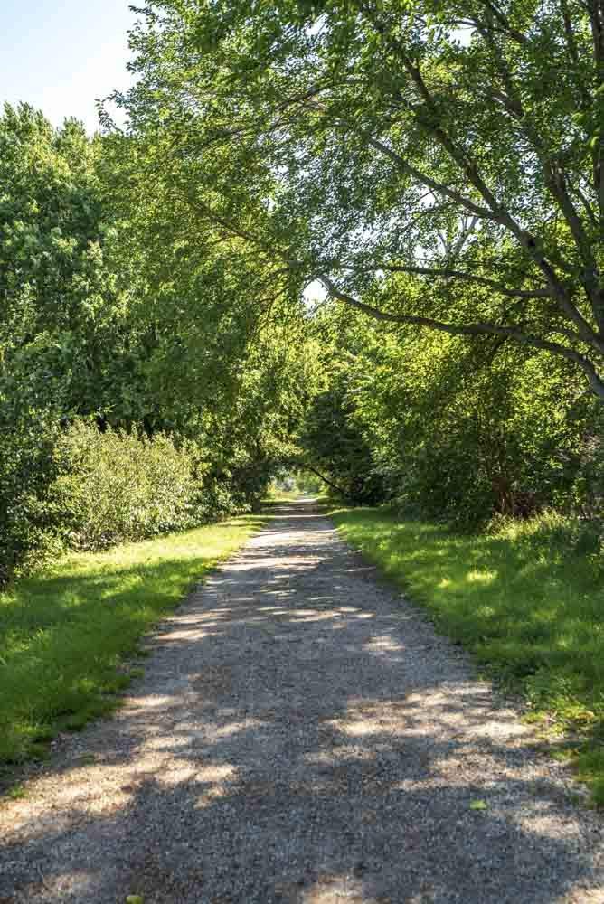 City trail located conveniently next to The Villas at Mahoney Park