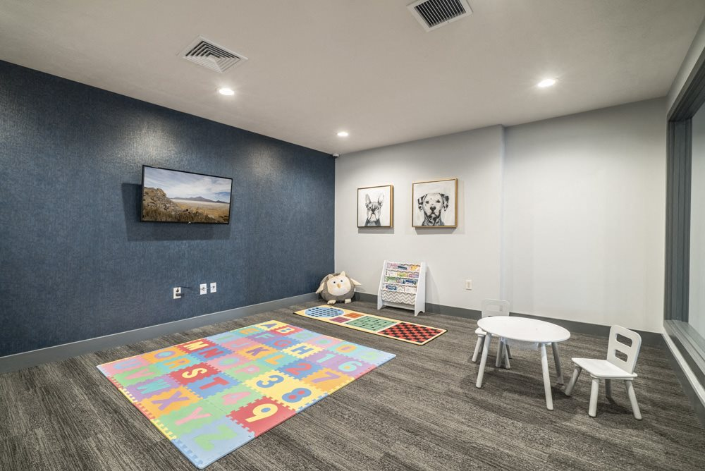 kids room available while parents work out at The Villas at Mahoney Park