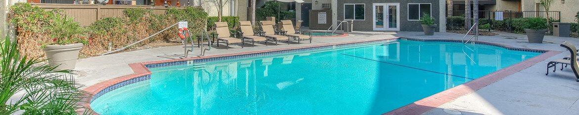 Resort Style Pool at Cornerstone Apartments