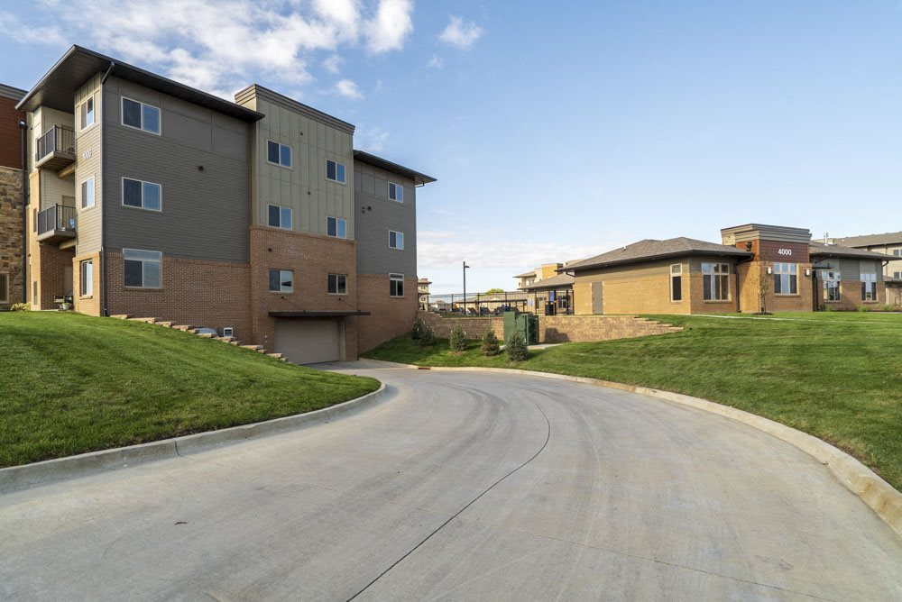 Underground parking is included at 360 at Jordan West best new apartments West Des Moines IA 50266