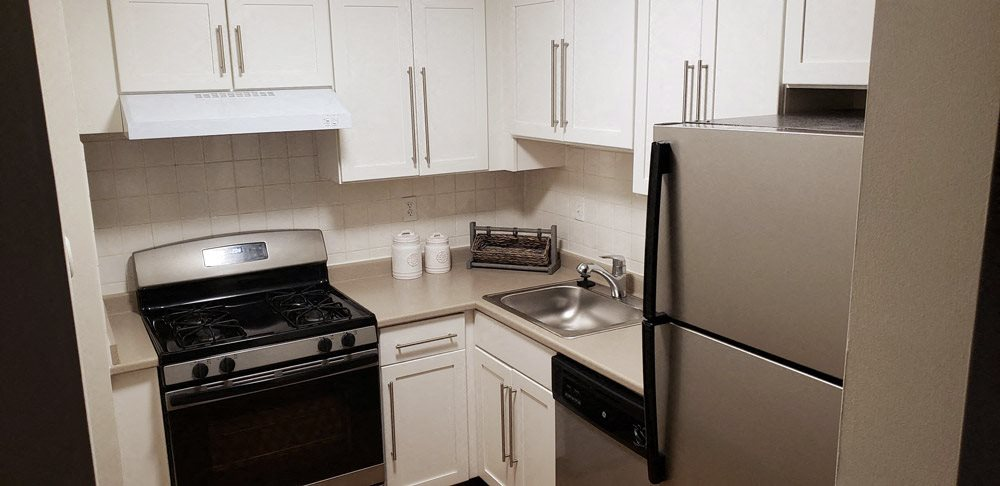 Kitchen at Stratton Hill Park Apartments in Worcester, MA