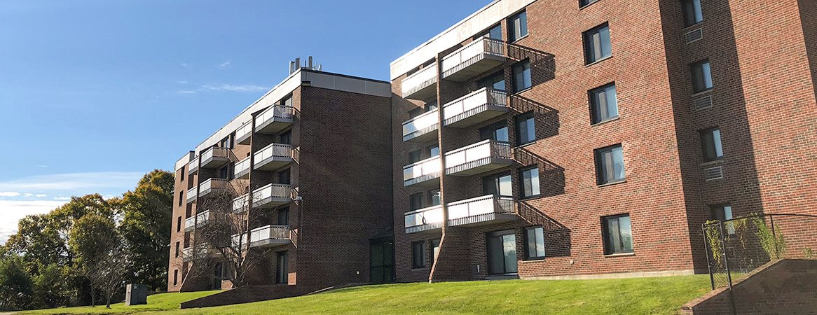 Affordable housing at Stratton Hill Park apartments in Worcester, MA