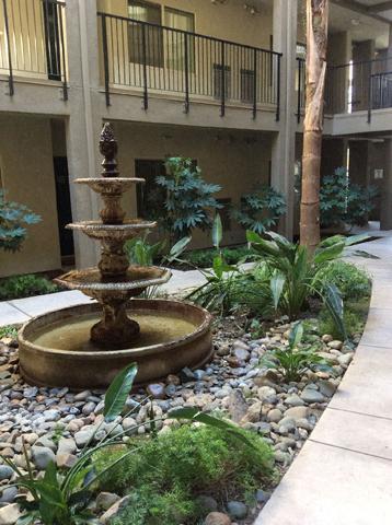 Water Feature  l Davinci Apartments